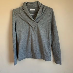 Tonic Active Size medium Pull Over Gray Cowl Neck